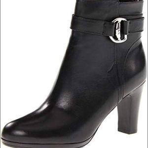 Ralph Lauren Black Mandy Bootie Size 7.5B
